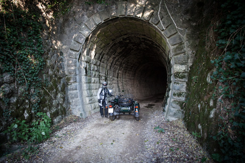 tunel parenzana